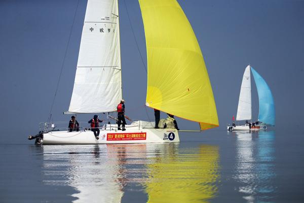 无翼飞行, 2016, 菱湖湾杯, 环太湖帆船拉力赛, 环太湖帆船赛,无翼飞行:2016菱湖湾杯环太湖拉力赛印象