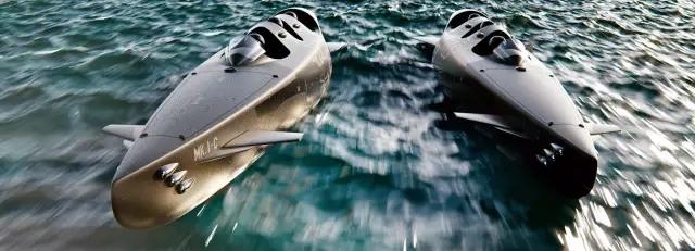 荷兰Ortega公司推出仅坐三人的小型潜水艇MK.1C