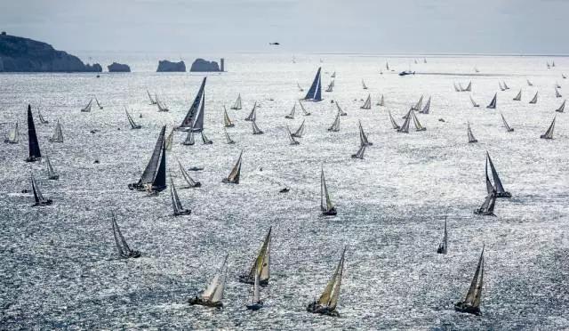 帆船赛,开赛,世界上最火爆的离岸帆船赛——劳力士法斯特奈特帆船赛即将开赛!!