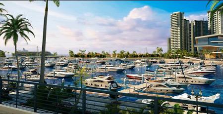 游艇课堂 清水湾游艇会    海南清水湾游艇会位于项目一线海景核心