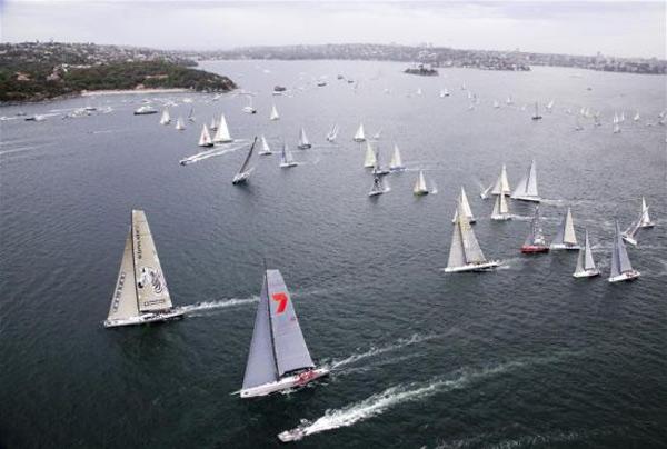 中国赛队首次入围2015悉尼至霍巴特帆船赛