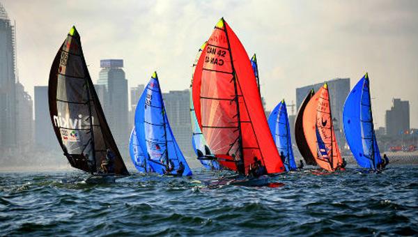 第九届中国杯帆船赛落幕