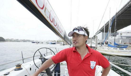 中国首支职业帆船队备战悉尼至霍巴特帆船赛