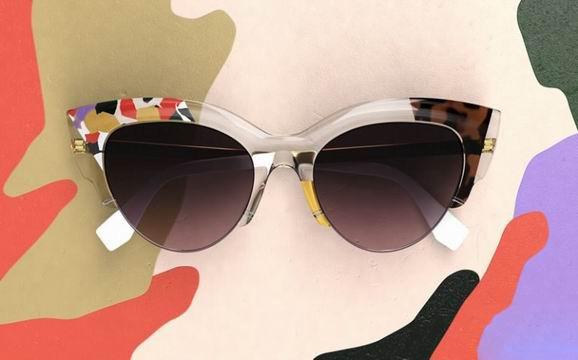fendi推出丛林系列太阳眼镜