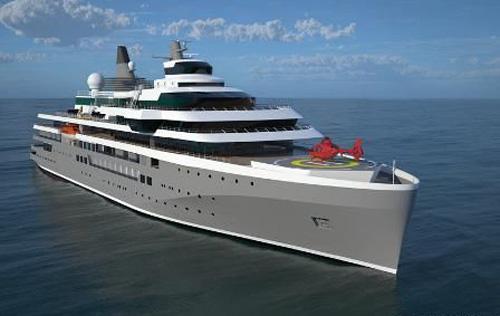 达门造船推出新型探险邮船设计