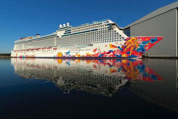 星梦邮轮首航与你分享旅行的快乐