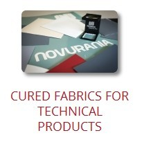 cured fabrics for technical products