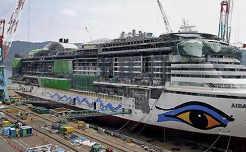 三菱重工转向中小型邮轮和客滚船建造