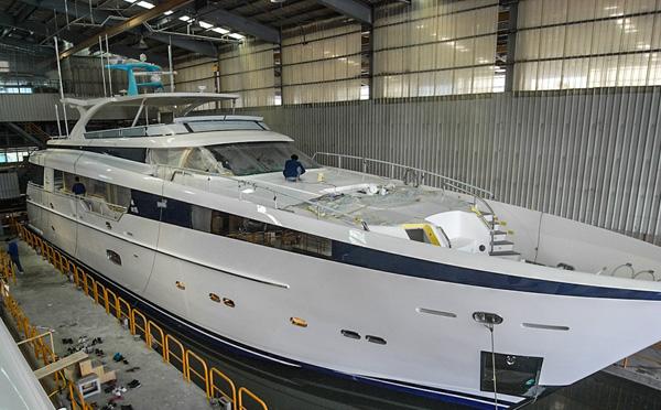 中国台湾嘉鸿游艇发布CC110 Abaco