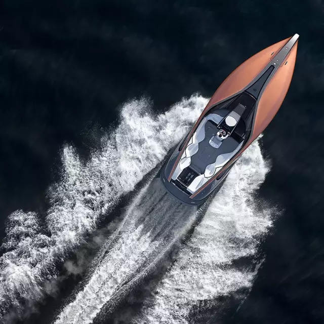 突破想象力之作 雷克萨斯旗下首款概念运动游艇发布
