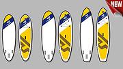 冲浪板 TI-9-10-10'6YELLOW