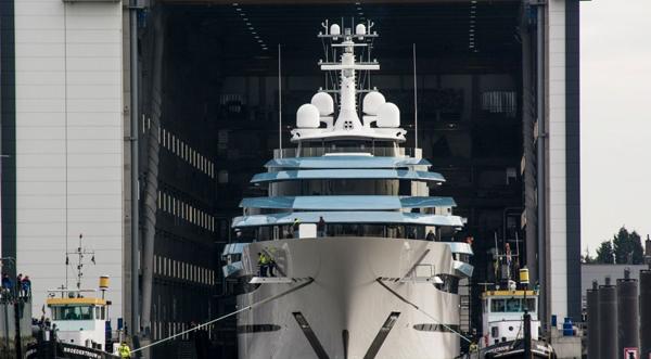 Oceanco发布荷兰最大游艇
