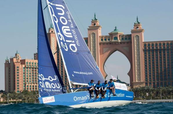 为期16天EFG环阿拉伯海帆船赛开赛