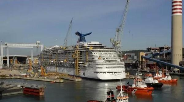 中国确定建造2+4艘豪华邮轮