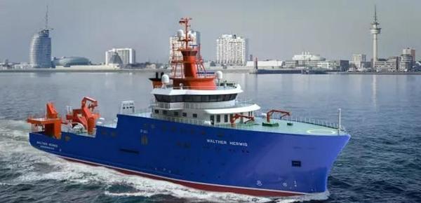 农业与食品德国联邦办公室已经签署了与达门集团关于一艘渔业研究船的建造合同