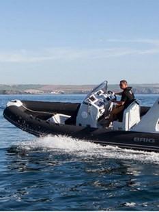 HY-401 玻璃钢底充气冲锋舟 RIB