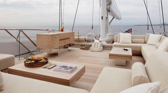 游艇上露天的沙发该如何保养?