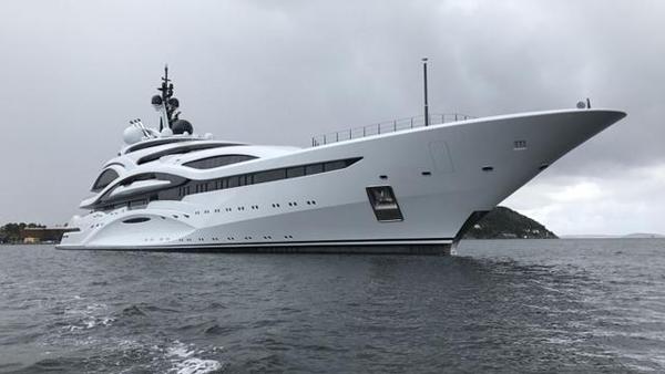 123米Lürssen超级游艇Al Lusail已交付