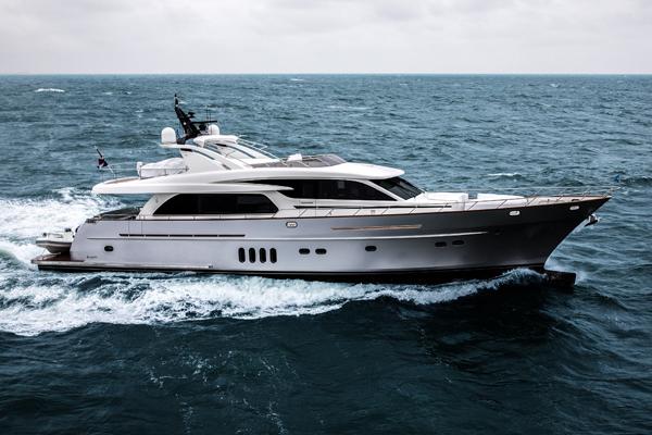 Van Der Valk发布最新发货公告 27米游艇Anemeli