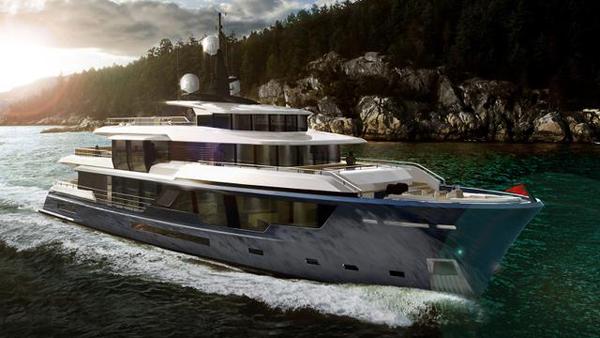 Vripack推出概念游艇MCP 120