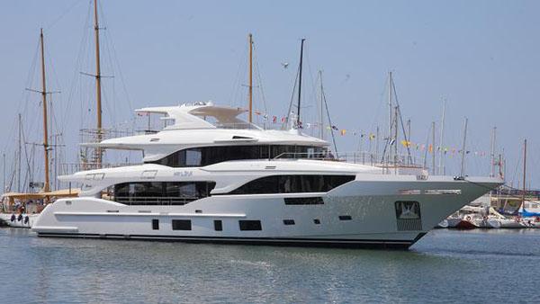 Benetti推出第二艘地中海116系列游艇Loui