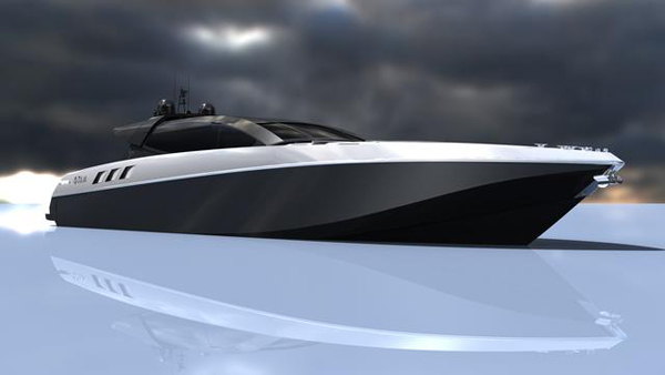 Otam透露30米概念游艇 Otam 100HT的细节