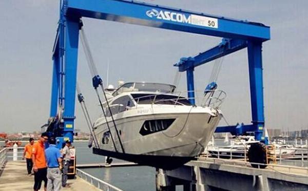 上排保养应该选择什么方式吊装游艇?