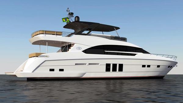 Riostar 83游艇项目开始在巴西建造