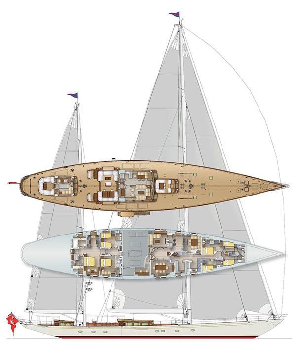 Vitters宣布签署一项新的50米帆船游艇订单