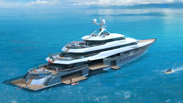 Claydon Reeves揭示90米游艇Linea更多细节