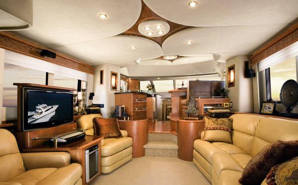部分游艇内装材料与家庭内装材料有什么区别?