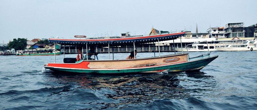 一定要告诉你们曼谷的水上公交船到底有多方便!