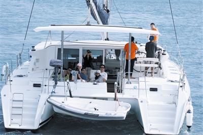 境外游艇可进出海南8海上游览景区