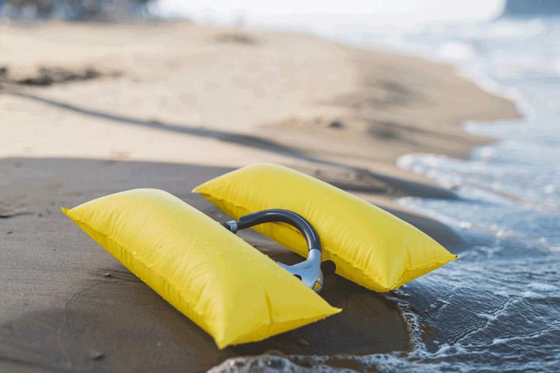 救生衣,世界上最小的救生衣Ploota只有普通泡沫救生衣1/50大小