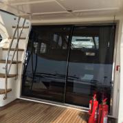 游艇不锈钢门