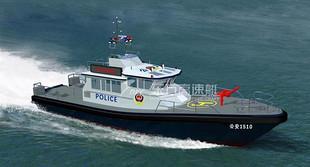 20米警用艇