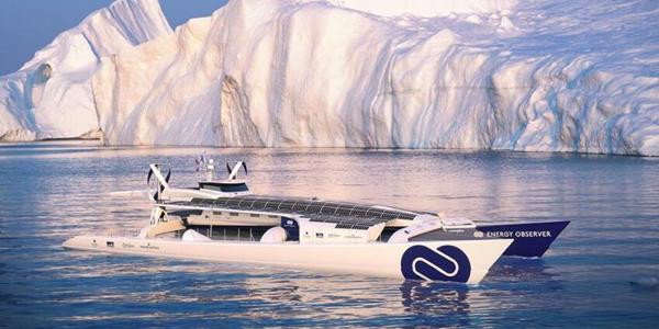 可再生能源 无人船,世界首艘可再生能源动力无人船环游世界
