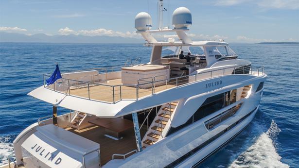 Horizon's FD85,Julind,交付,Horizon's FD85系列第六艘船交付并命名为Julind