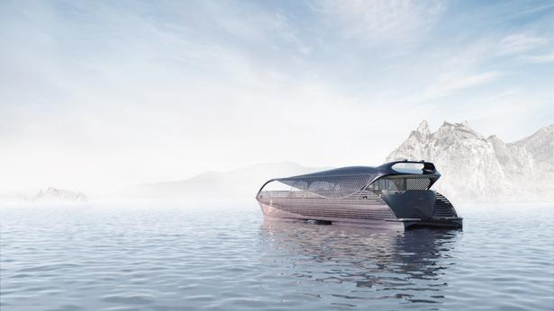 Solar Impact,太阳能动力,游艇,Solar Impact揭示了太阳能动力游艇的概念