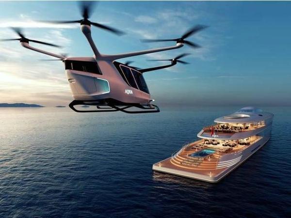 氢动力 超级游艇 Aqua,氢动力超级游艇概念Aqua亮相 续航约6945公里