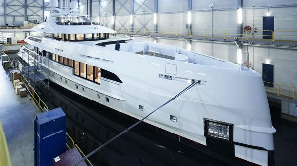 Heesen 超级游艇 混合动力,Heesen出售第二艘混合动力超级游艇