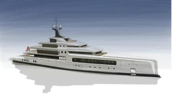 C-72 超级游艇概念 韦恩·帕克,韦恩·帕克(WAYNE PARKER)设计和C-72超级游艇概念