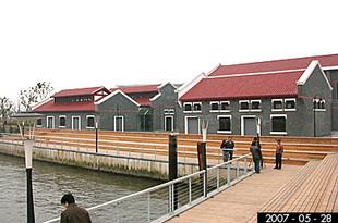 苏州河码头景观设计