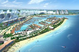 海口美源游艇码头施工细节规划