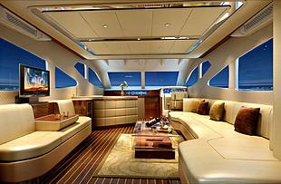 希仕德莱63尺豪华商务游艇设计