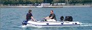 海飞HSA-500 带A形船头的充气艇/ 铝地板