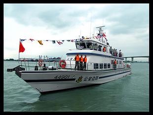 珠海琛龙30m广州亚运安保指挥艇