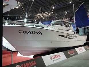 雅马哈FG420钓鱼艇