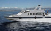 常州玻璃钢造船厂982WJC消波巡逻艇