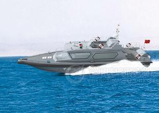 常州玻璃钢造船厂20米缉私摩托艇